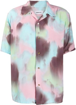 Ambush Hawaiian tie-dye shirt