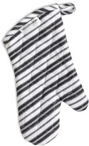 Williams-Sonoma Stripe Oven Mitt, Black