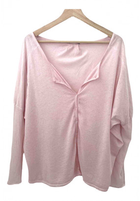 Humanoid Pink Cotton Top for Women
