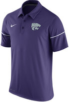 Nike Men's Kansas State Wildcats Team Issue Polo Shirt