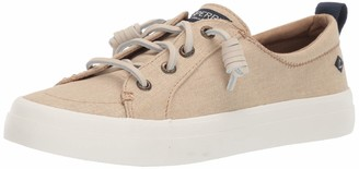 Sperry Women's Crest Vibe Washed Linen Sneaker Numeric_5_Point_5