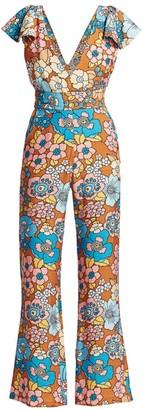 Dodo Bar Or Jenny Floral Jumpsuit