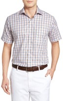 Peter Millar Men's Coastline Regular Fit Tattersall Plaid Sport Shirt