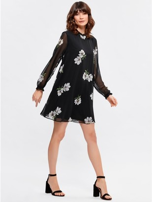 M&Co Floral swing dress