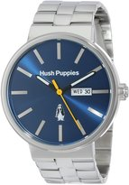 Hush Puppies Men's HP.3792M.1503 Signature Stainless Steel Day Date Luminous Hands Watch