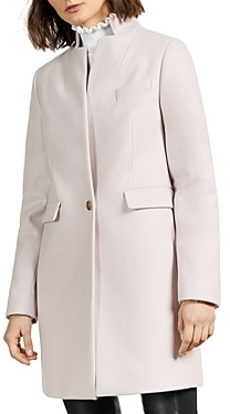 Ted Baker Straight Tailored Cocoon Coat