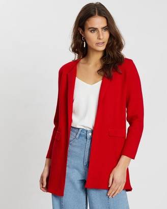 Mossée Natasha Knitted Open Front Cardigan