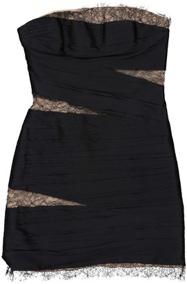 Jay Ahr Black Silk Dresses