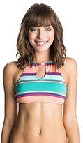 Roxy Women's Wave Chaser Crop Halter Bikini Top