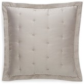 Hudson Park Luxe Greenwich Quilted Euro Sham