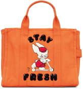 Marc Jacobs Orange Magda Archer Edition Small Traveler Tote