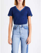 Maje Tiare linen T-shirt