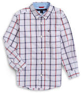 Tommy Hilfiger Checkered Button-Down Shirt