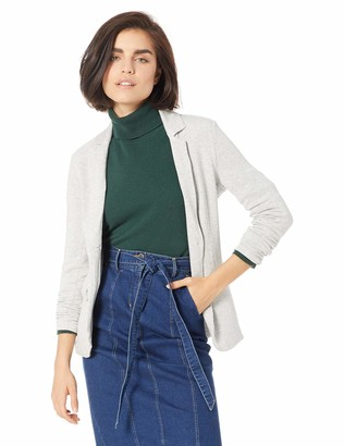 Majestic Filatures Women's French Terry Long Sleeve 1-Button Blazer