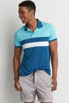 American Eagle Outfitters AE Active Colorblock Polo