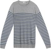 John Smedley Striped Pullover