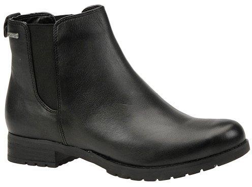 Rockport Women's Tristina Chelsea Boot,Black,8.5 M US