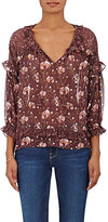 Ulla Johnson Women's Raine Silk Georgette Blouse