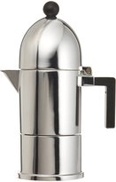 Alessi La Cupola Espresso Maker by Aldo Rossi Size: 1 cup, Handle Color: Black