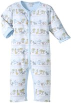 Kissy Kissy Jungle Menagerie Playsuit (Baby) - Blue-6-9 Months