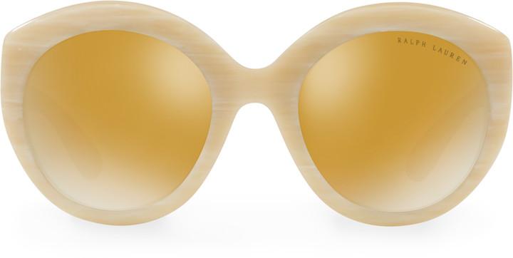 Ralph Lauren Rounded Sunglasses