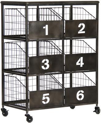 Zentique Claudio Storage Cart