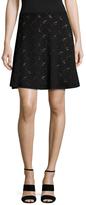 BCBGMAXAZRIA Stretch Lace Skirt