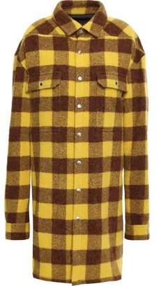 Rick Owens Alpaca And Wool-blend Felt Jacket