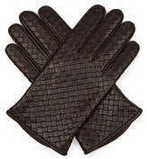 Bottega Veneta Intrecciato-leather Gloves
