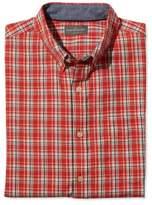 L.L. Bean Signature Cotton/Linen Shirt, Slim Fit