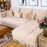 KCHDFBUOQIFG uropan-styl Sofa Cushions/Summr Fabric Sofa Towl/ Arm Towl/Backrst Towl/ Slip Sofa Towl