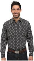 Stetson Paisley Dot Long Sleeve Woven Snap Shirt