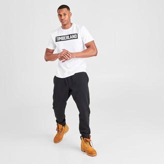 Timberland Men's Mink Brook 3D Embossed T-Shirt
