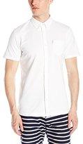 Ben Sherman Men's Short-Sleeve Button-Front Shirt