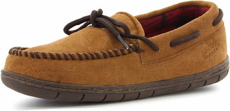 Staheekum Men's Flannel Moccasin