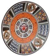 Novica Decorative Ceramic Bowl, Earthtone, 'Cosmic Hummingbird'