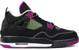 "Jordan Brand Air 4 ""30th Black Fuchsia"" GS"