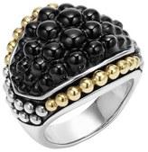 Lagos Women's 'Black Caviar' Dome Ring