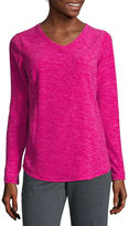 Made For Life Made for Life Long-Sleeve V-Neck Fleece Pullover - Tall