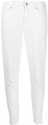 Escada Sport studded skinny jeans