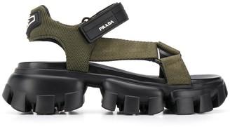Prada Cloudbust touch strap sandals