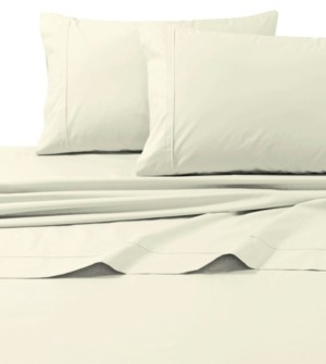 Tribeca Living 300 Thread Count Cotton Percale Extra Deep Pocket Twin Sheet Set Bedding