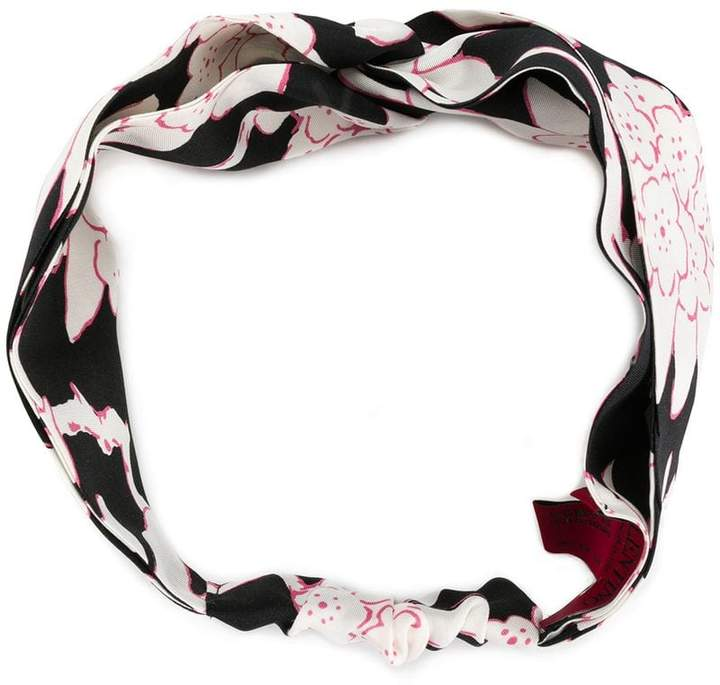 Valentino floral printed headband