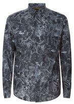 Valentino Camubutterfly Noir Shirt