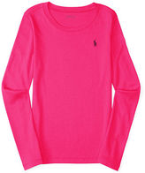 Ralph Lauren Pima-Blend Long-Sleeve Tee