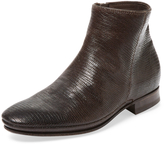 N.D.C. Made By Hand Women's Juno Spale Tessus Embossed Leather Bootie