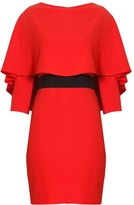 Alice + Olivia Cairo Fitted Dress Poppy