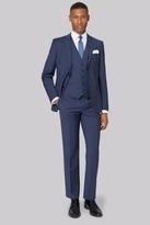 DKNY Slim Fit Blue Marl Suit