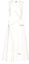 Roksanda Aphra pleat-front cotton dress