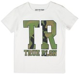True Religion Boy's Camo Logo Tee - Sizes 2-7